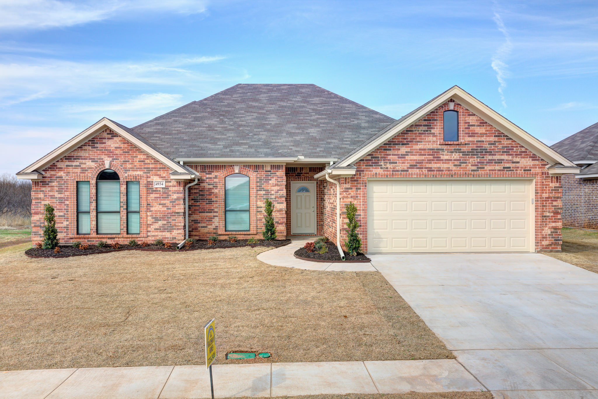 Brand new home in one of Wichita Falls' best school districts!
