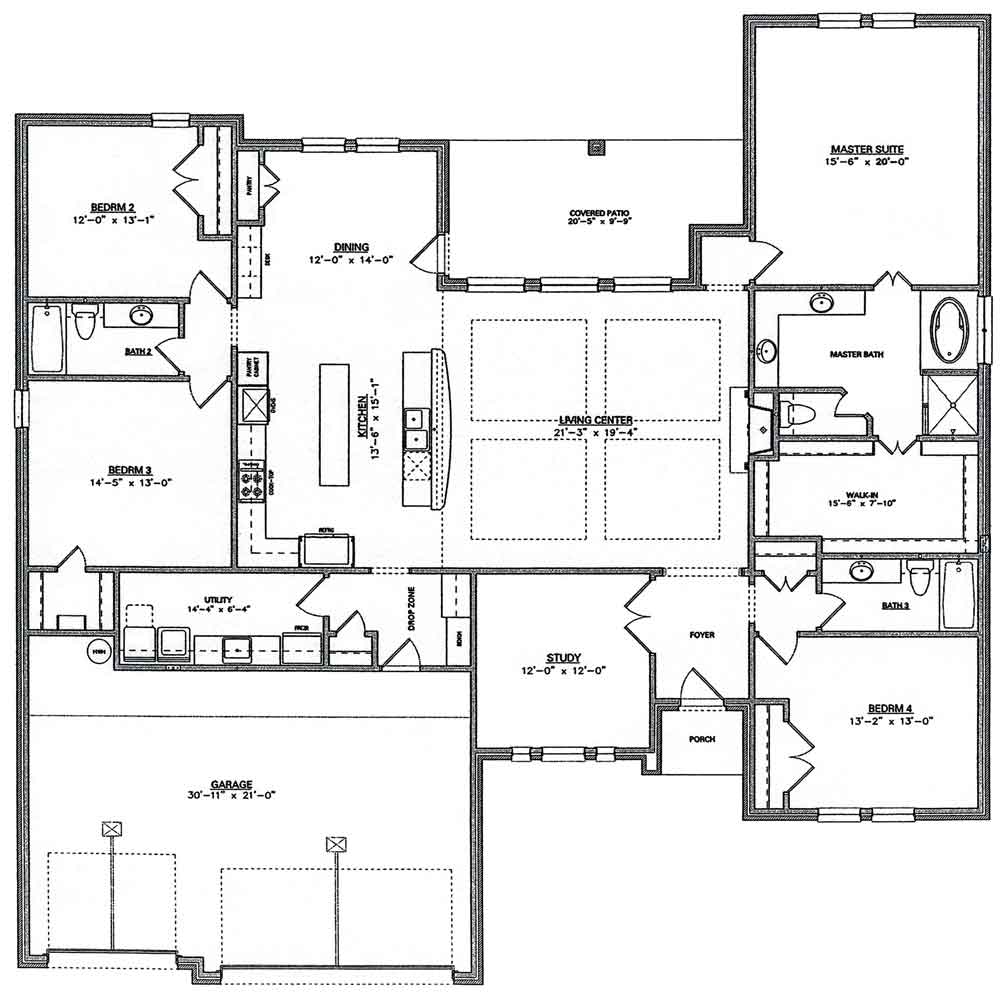 New Build Floor Plan