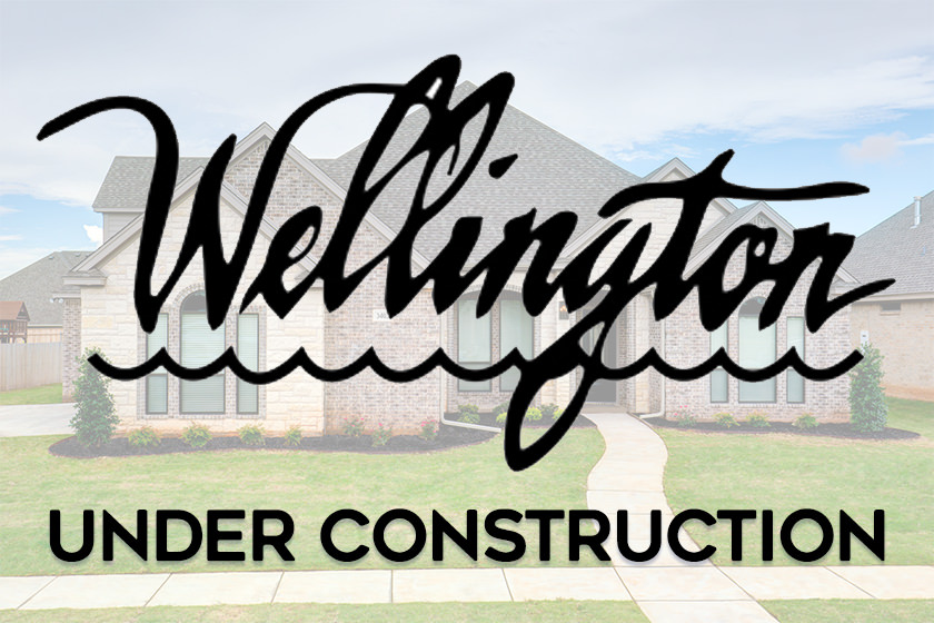 Coming soon in Wichita Falls - new home being added to our Lake Wellington subdivision.